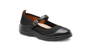 black flute lycra women's shoe