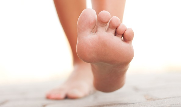 photo of person's feet